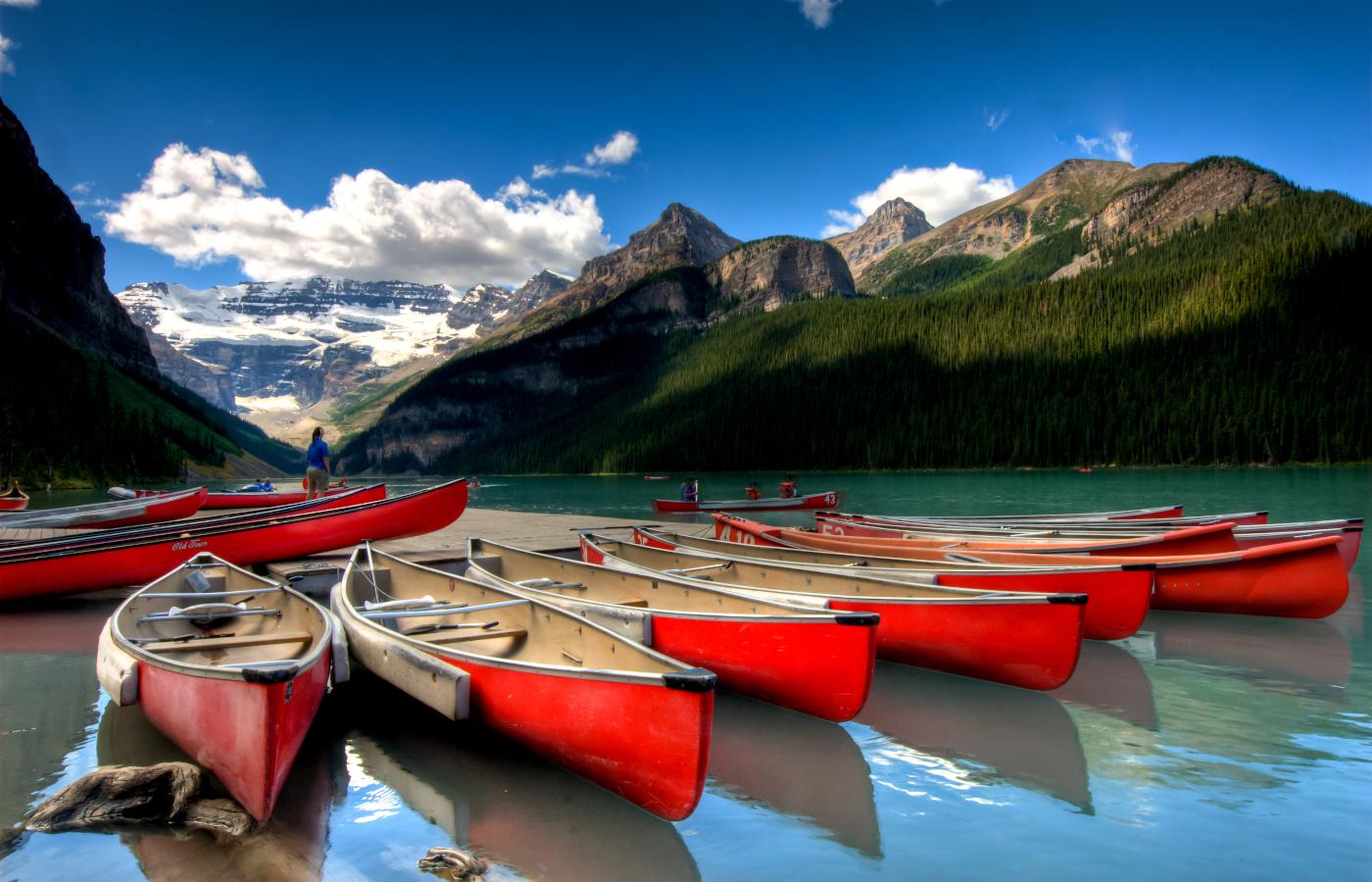 Höhepunkte im Osten und Westen Kanadas