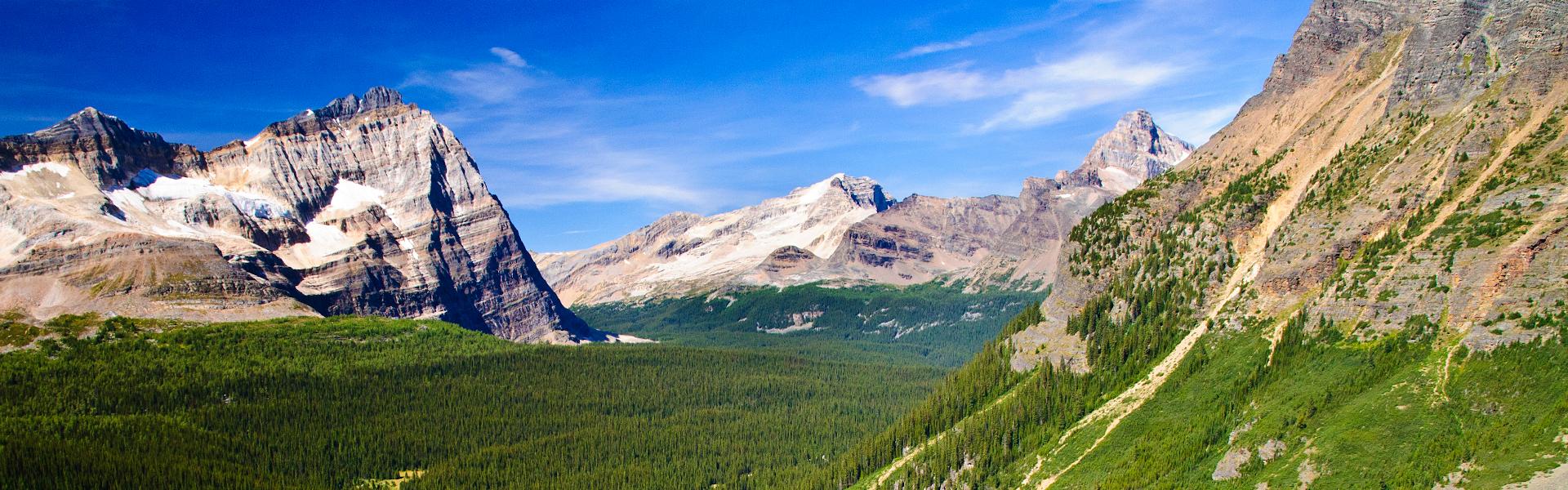 Rund um die kanadischen Rockies
