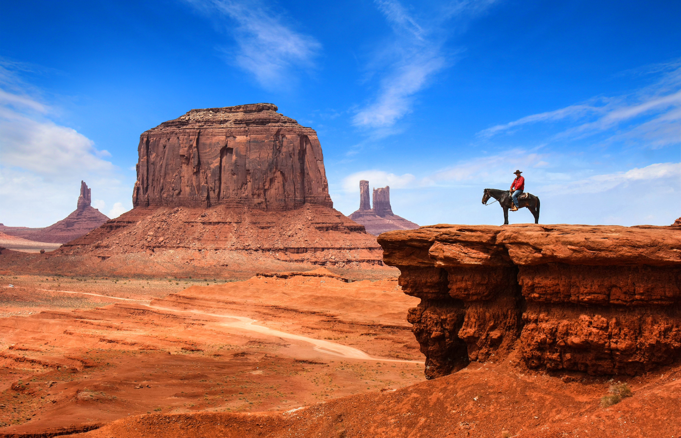 Canyons, Nationalparks und Metropolen